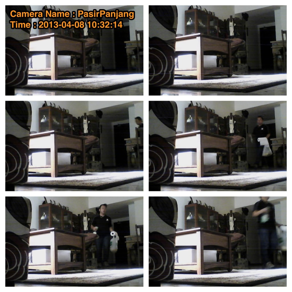 Network Camera - 8th April visit