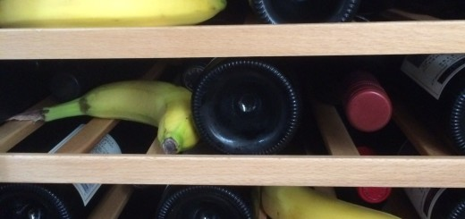 Bananas about wine?
